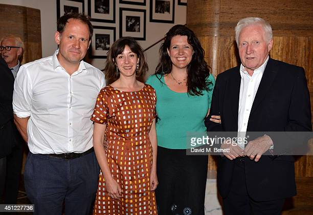 Henry Dimbleby Amy Rosenthal Kate Dimbleby and David Dimbleby attend Kate Dimbleby's performance of The Dory Previn Story at The Crazy Coqs on June...