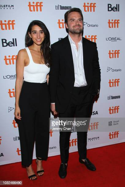 Henry Dunham and guest attend the 'The Standoff At Sparrow Creek' premiere during 2018 Toronto International Film Festival at Ryerson Theatre on...