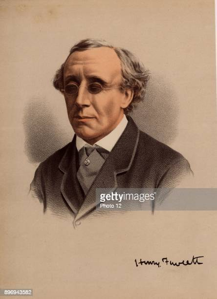 Henry Fawcett English politician and economist born in Salisbury Wiltshire Postmastergeneral he introduced the parcel post in 1882 Blinded in a...