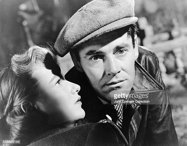 Henry Fonda and Barbara Bel Geddes are Joe Adams and Jo Ann respectively in the 1947 film The Long Night