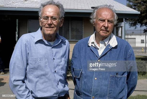 Henry Fonda and John Houseman circa 1979