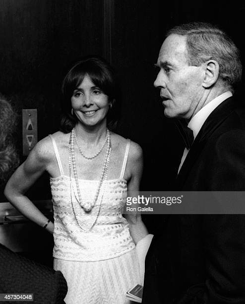 Henry Fonda and wife Shirlee Fonda attend the party for 28th Annual Tony Awards on April 21 1974 at Sardi's Restaurant in New York City