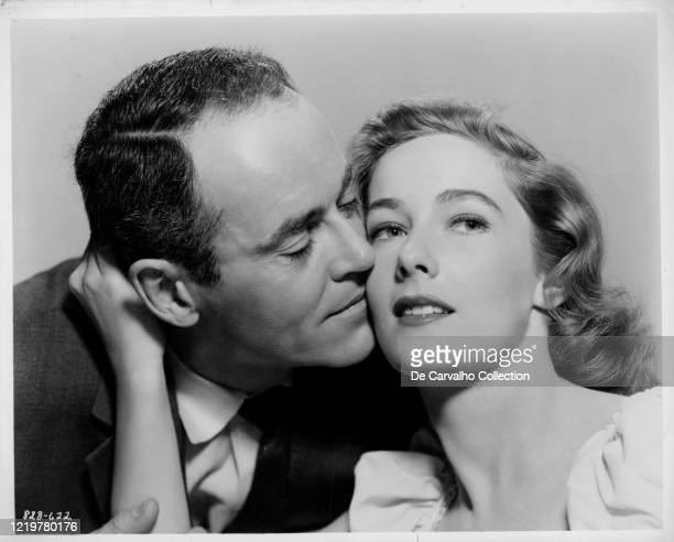Henry Fonda as 'Manny Balestrero' opposite Vera Miles as his wife 'Rose Balestrero' in 'The Wrong Man' United States Directed by Alfred Hitchcock
