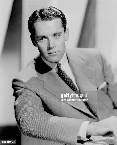 Henry Fonda Wearing a Suit
