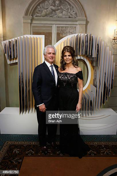 Henry Fondu and President of L'Oreal Paris USA Karen T Fondu attend the L'Oreal Paris Women of Worth 2015 Celebration Inside at The Pierre Hotel on...
