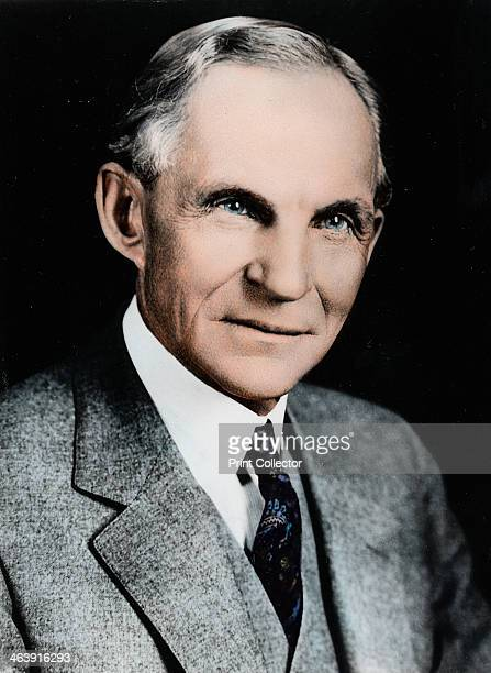 Henry Ford American engineer and automobile manufacturer c1910c1930 In 1903 Henry Ford founded the Ford Motor Company He pioneered modern 'assembly...
