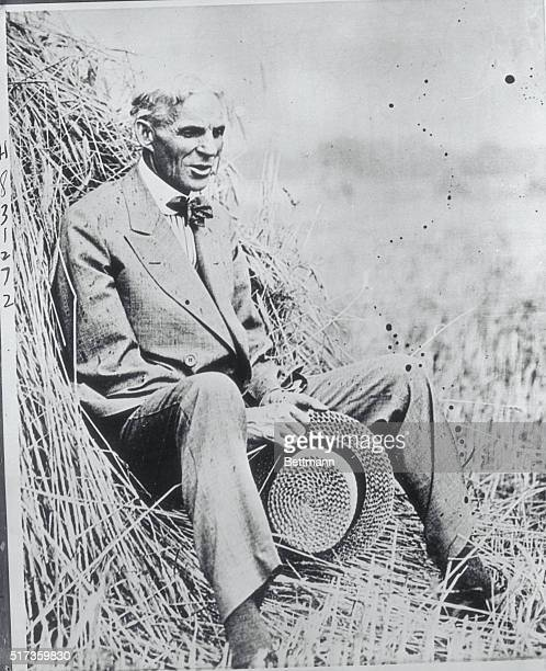 Henry Ford American industrialist and father of the Model T automobile His assemblyline methods revolutionized factory production