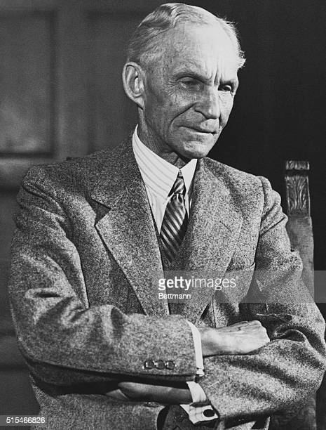 Henry Ford American industrialist known for his revolutionary assemblyline process for factory production and the ModelT automobile