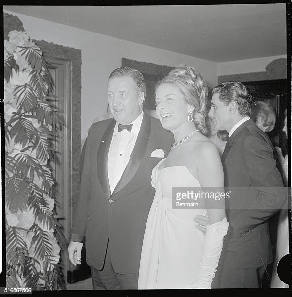 Henry Ford II and his wife the former Christina Austin attend the Ballo Romantico at the St Regis Hotel here December 8th Proceeds from the Italian...