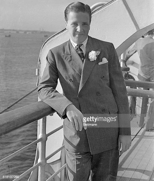 Henry Ford II grandson of the auto manufacturer and Miss Anne McDonnell daughter of Mr and Mrs James Francis McDonnell of New York City and...
