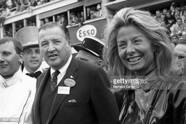 Henry Ford II Mrs Henry Ford 24 Hours of Le Mans Le Mans 06 November 1967 Henry Ford II with wife Cristina during the 1967 24 Hours of Le Mans