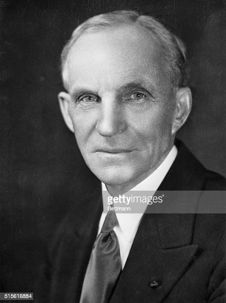 Henry Ford, the founder of the Ford Motor Company.