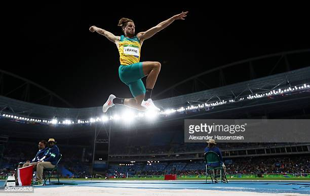 Henry Frayne of Australia competes during the Men's Long Jump Final on Day 8 of the Rio 2016 Olympic Games at the Olympic Stadium on August 13, 2016...