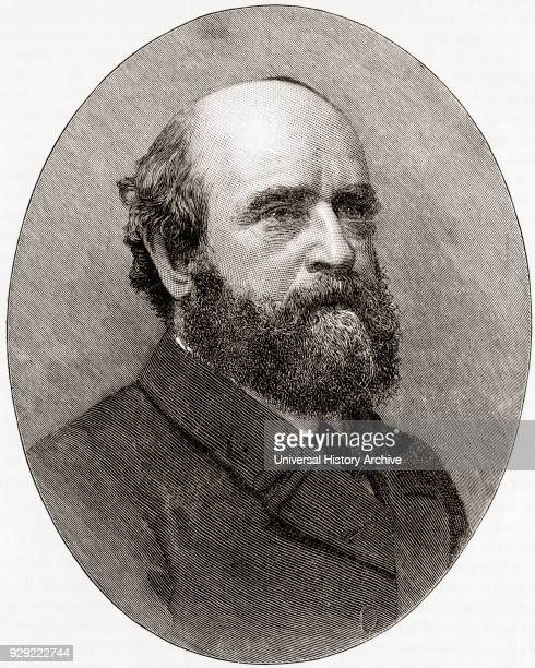 Henry George 1839 – 1897 American political economist journalist and philosopher From The Century Edition of Cassell's History of England published c...
