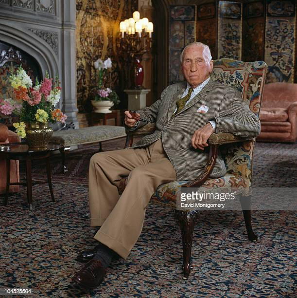 Henry George Alfred Marius Victor Francis Herbert the 6th Earl of Carnarvon circa 1980