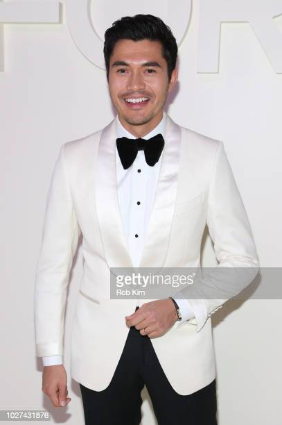 Henry Golding arrives for Tom Ford SS19 fashion show at Park Avenue Armory on September 5 2018 in New York City