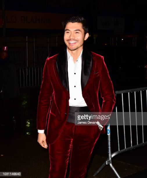 Henry Golding arrives to 'A Simple Favor' premiere at Museum of Modern Art on September 10 2018 in New York City