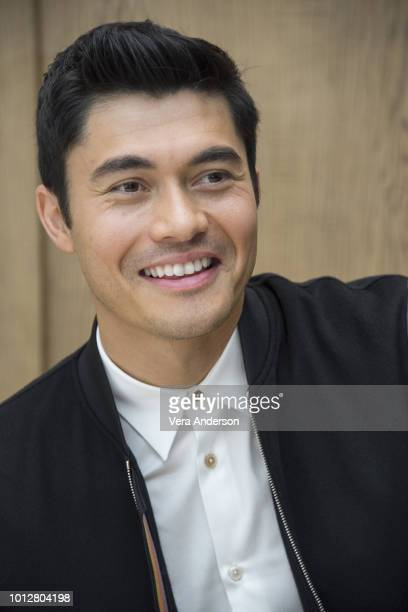 Henry Golding at the Crazy Rich Asians Press Conference at the Beverly Wilshire Hotel on August 5 2018 in Beverly Hills California