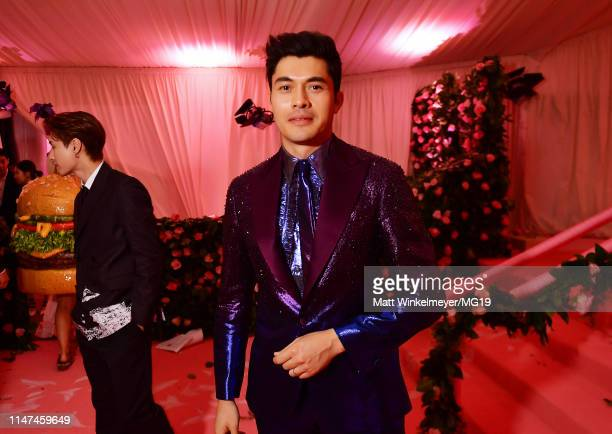 Henry Golding attend The 2019 Met Gala Celebrating Camp Notes on Fashion at Metropolitan Museum of Art on May 06 2019 in New York City