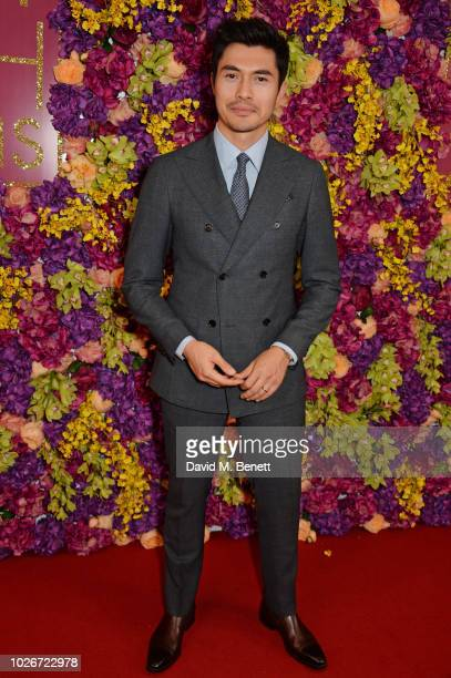 Henry Golding attends a special screening of Crazy Rich Asians at The Ham Yard Hotel on September 4 2018 in London England