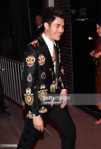 Henry Golding attends the 2019 Met Gala Boom Boom Afterparty at The Standard hotel on May 06 2019 in New York City