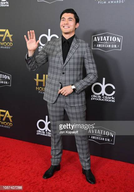 Henry Golding attends the 22nd Annual Hollywood Film Awards at The Beverly Hilton Hotel on November 4 2018 in Beverly Hills California