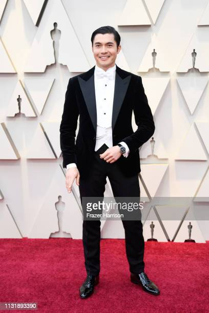 Henry Golding attends the 91st Annual Academy Awards at Hollywood and Highland on February 24 2019 in Hollywood California