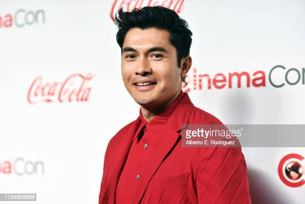 Henry Golding attends The CinemaCon Big Screen Achievement Awards Brought to you by The CocaCola Company at OMNIA Nightclub at Caesars Palace during...