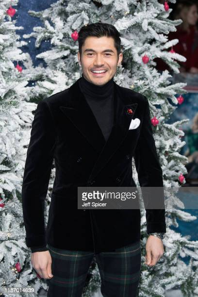 Henry Golding attends the Last Christmas UK Premiere at BFI Southbank on November 11 2019 in London England