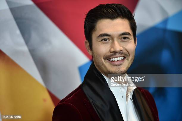 Henry Golding attends the New York premier of A Simple Favor at Museum of Modern Art on September 10 2018 in New York City