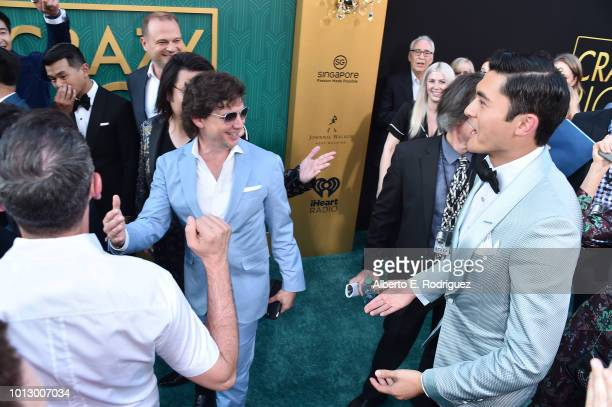 """Henry Golding attends the premiere of Warner Bros. Pictures' """"Crazy Rich Asiaans"""" at TCL Chinese Theatre IMAX on August 7, 2018 in Hollywood,..."""