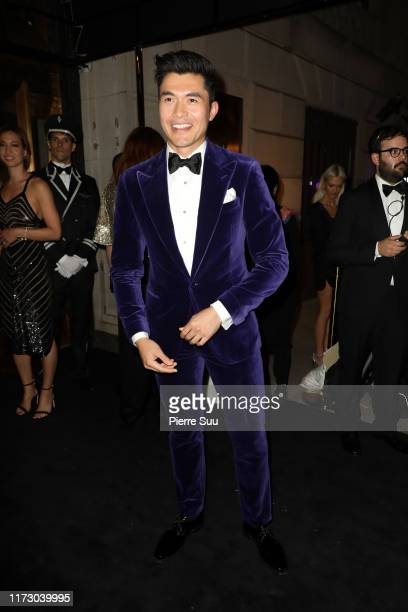 Henry Golding attends the Ralph Lauren Fashion Show Arrivals during New York Fashion Week on September 07 2019 in New York City