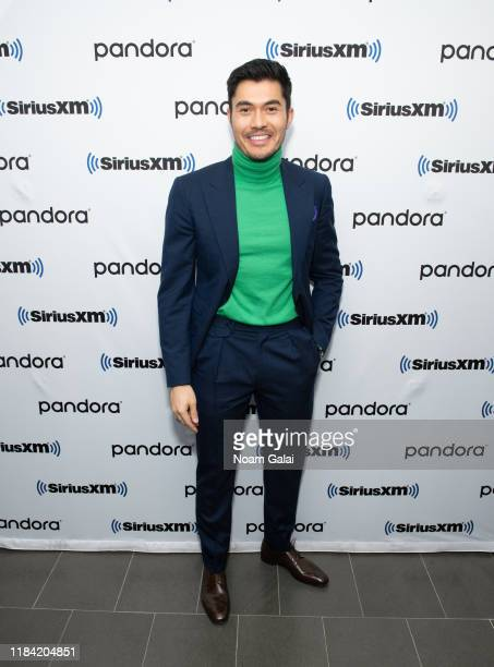 Henry Golding attends the SiriusXM Town Hall Special with the cast of 'Last Christmas' hosted by SiriusXM's Jessica Shaw on October 29 2019 in New...