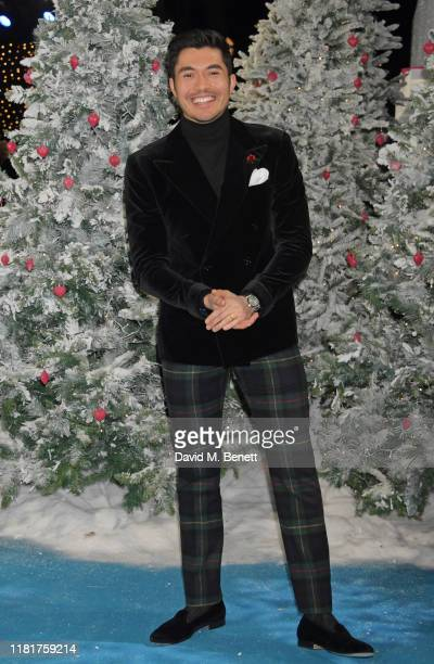 Henry Golding attends the UK Premiere of Last Christmas at the BFI Southbank on November 11 2019 in London England