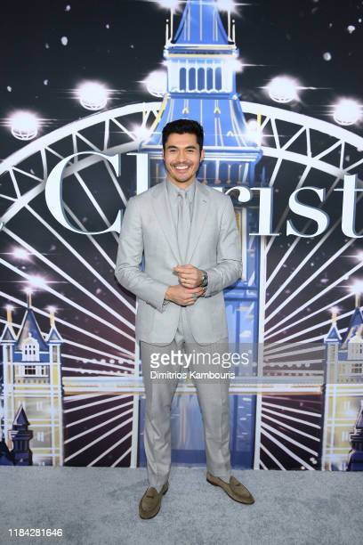 Henry Golding attends the Universal Pictures Premiere of Last Christmas at AMC Lincoln Square on October 29 2019 in New York City
