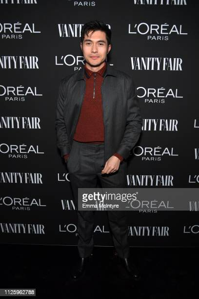 Henry Golding is seen as Vanity Fair and L'Oréal Paris Celebrate New Hollywood on February 19 2019 in Los Angeles California
