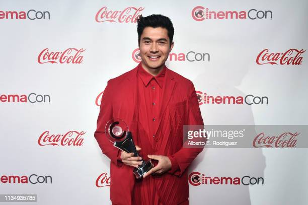 Henry Golding recipient of the Male Star of Tomorrow award attends The CinemaCon Big Screen Achievement Awards Brought to you by The CocaCola Company...