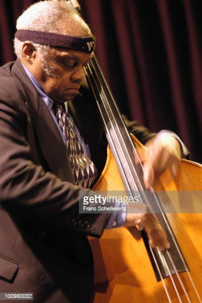 Henry Grimes performs live on stage at Bimhuis in Amsterdam, Netherlands on March 25 2004