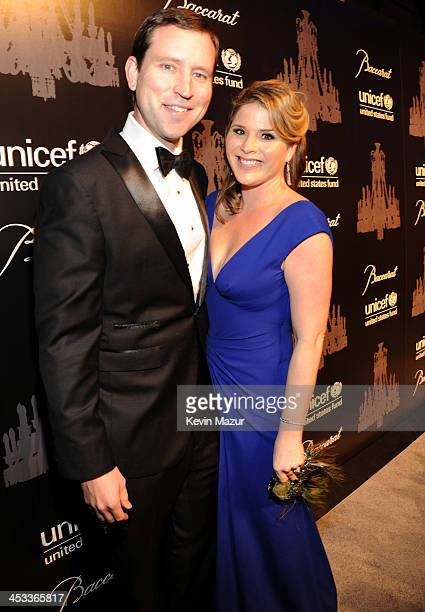 Henry Hager and Jenna Bush Hager attend The Ninth Annual UNICEF Snowflake Ball at Cipriani Wall Street on December 3 2013 in New York City