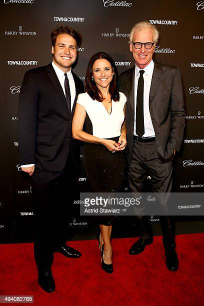 Henry Hall Julia LouisDreyfus and Brad Hall attend the TC Philanthropy Summit with screening of 'Generosity Of Eye' at Lincoln Center with Town...