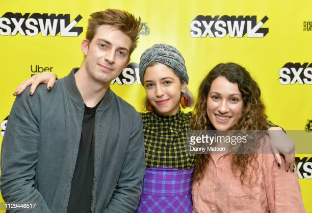 Henry Hayes Annabelle Attanasio and Lizzie Shapiro attend the 'Mickey and the Bear' Premiere during the 2019 SXSW Conference and Festivals at...