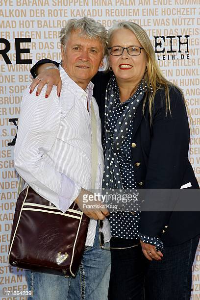 Henry Hübchen and Manuela Stehr at The anniversary party 10 years in the Xrental department in Berlin Rodeo