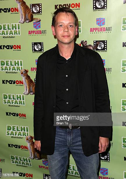 Henry Hereford attends 'Delhi Safari' Los Angeles premiere at Pacific Theatre at The Grove on December 3 2012 in Los Angeles California