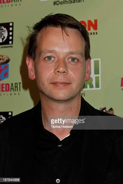 Henry Hereford attends the Delhi Safari Los Angeles premiere at Pacific Theatre at The Grove on December 3 2012 in Los Angeles California