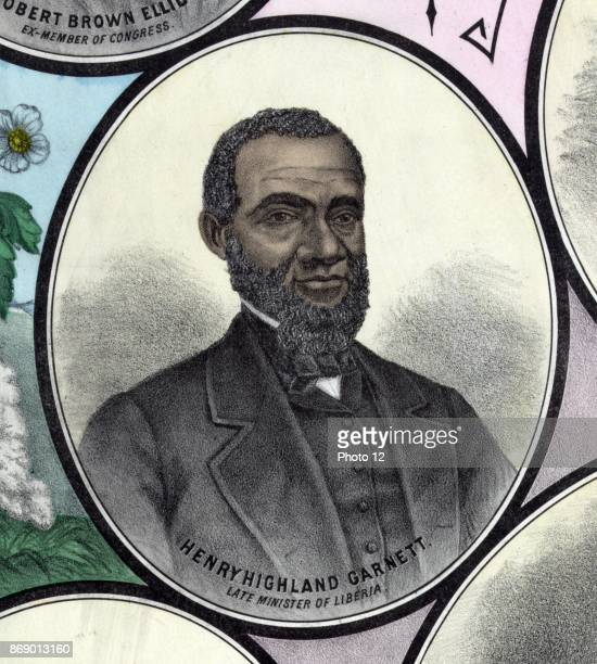 Henry Highland Garnet African American abolitionist