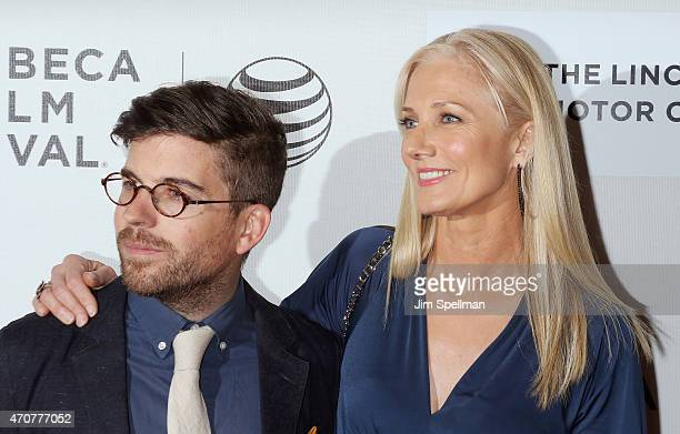 Henry Hobson and Joely Richardson attend the 2015 Tribeca Film Festival world premiere narrative 'Maggie' at BMCC Tribeca PAC on April 22 2015 in New...