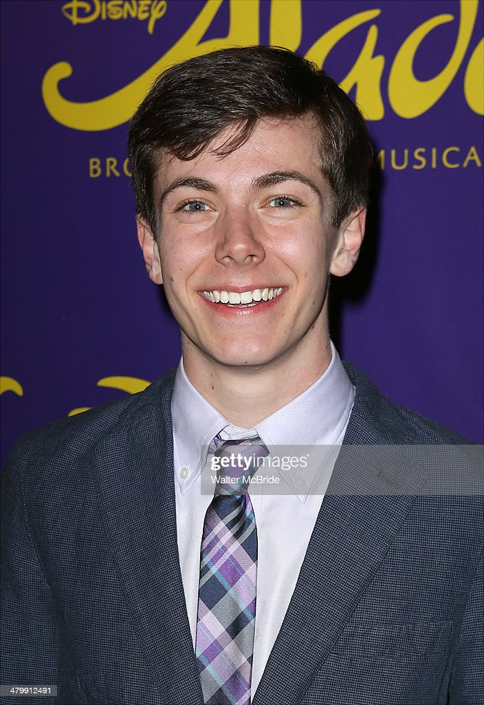 Henry Hodges attends the 'Aladdin' On Broadway Opening Night after party at Gotham Hall on March 20, 2014 in New York City.