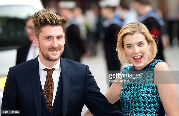 Henry Holland and Agyness Deyn attend a special 'Celebration of the Arts' event at the Royal Academy of Arts on May 23 2012 in London England