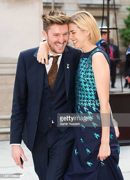 Henry Holland and Agyness Deyn attend a special 'Celebration of the Arts' event at the Royal Academy of Arts on May 23, 2012 in London, England.