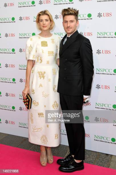 Henry Holland and Agyness Deyn attends the Pop Art Ball at Banqueting House on May 24 2012 in London England